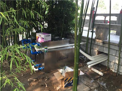 赛德清鱼池过滤器安装