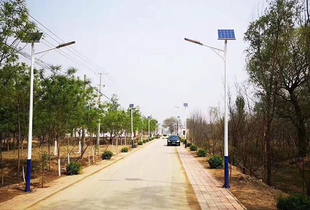 四川太阳能路灯定制成功案例