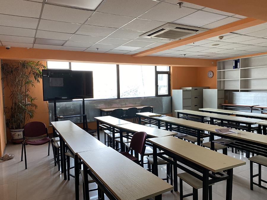 雅思语言培训学校环境:教学室