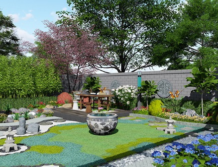 四川私家花园设计