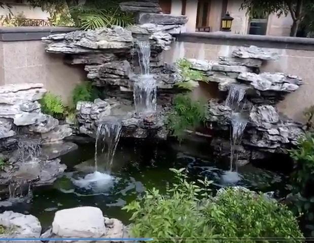 假山鱼池案例展示