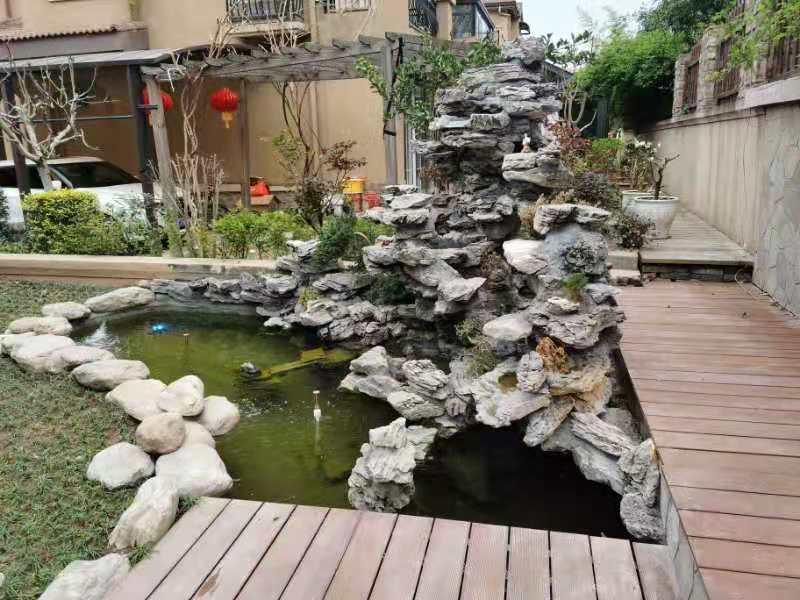 假山鱼池设计案例展示
