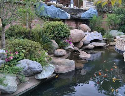 庭院假山鱼池要做在什么方位?有哪些风水禁忌?