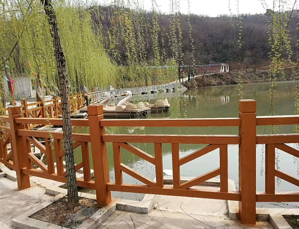水泥仿木栏杆制作工艺流程 四川仿木栏杆上色用什么油漆