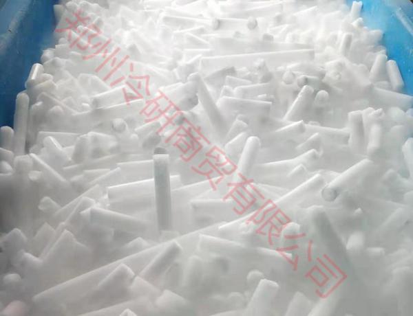 河南食品级柱状干冰