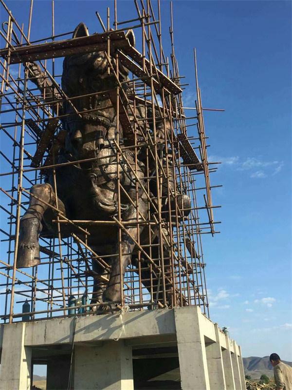 河南铸铜雕塑施工案例