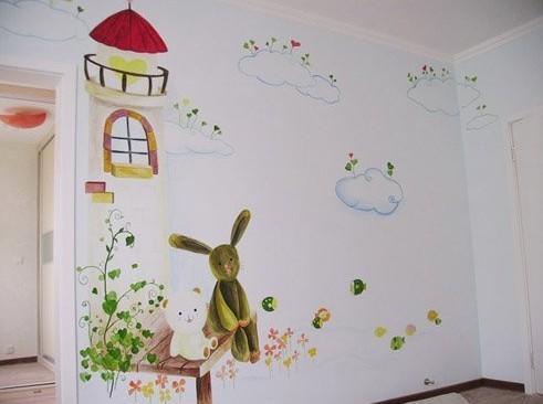 儿童房墙体彩绘时有哪些注意事项呢?本篇文章告诉您
