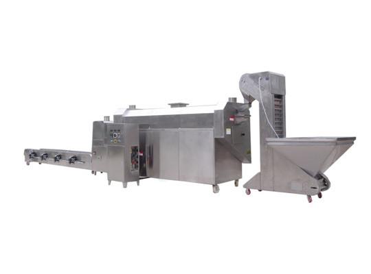 电磁炒货机生产线