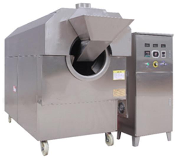 中型电磁炒货机安装