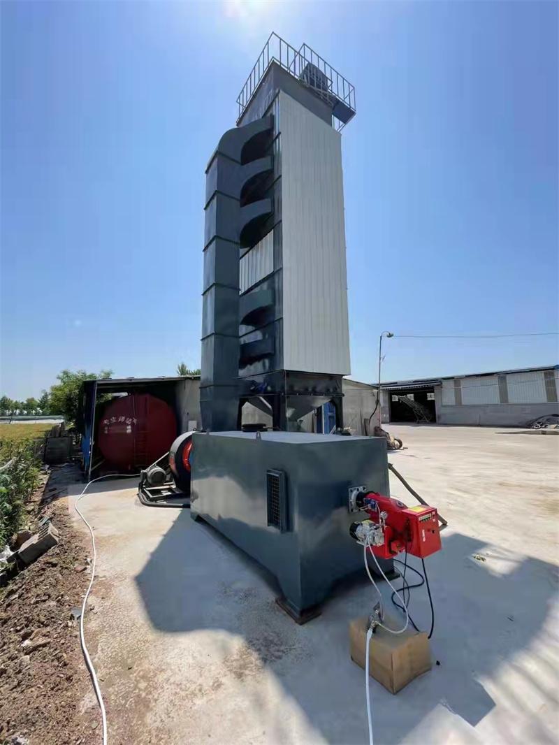 100吨新型粮食烘干塔