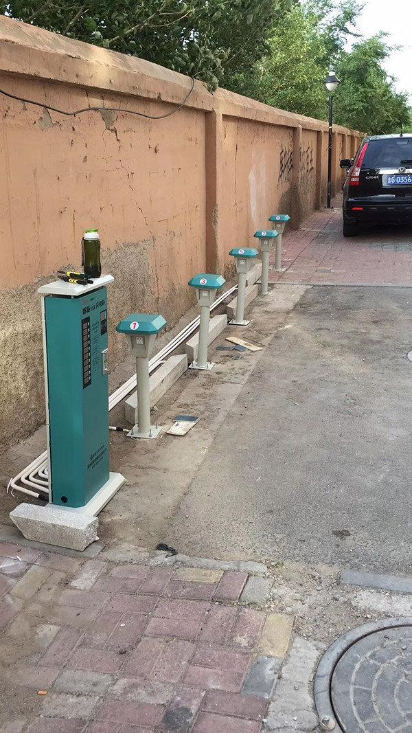 小区充电站合作案例