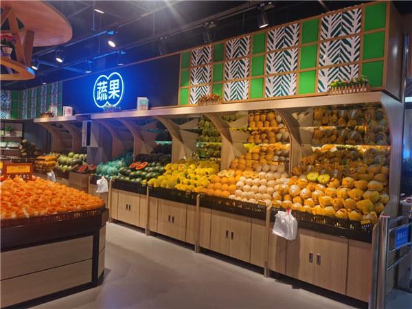 四川蔬菜水果货架