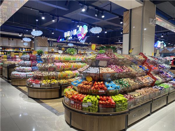 四川超市货架安装