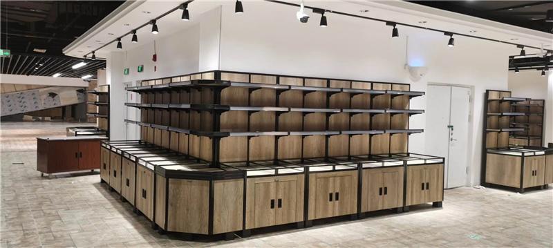 四川塑钢木货架定制