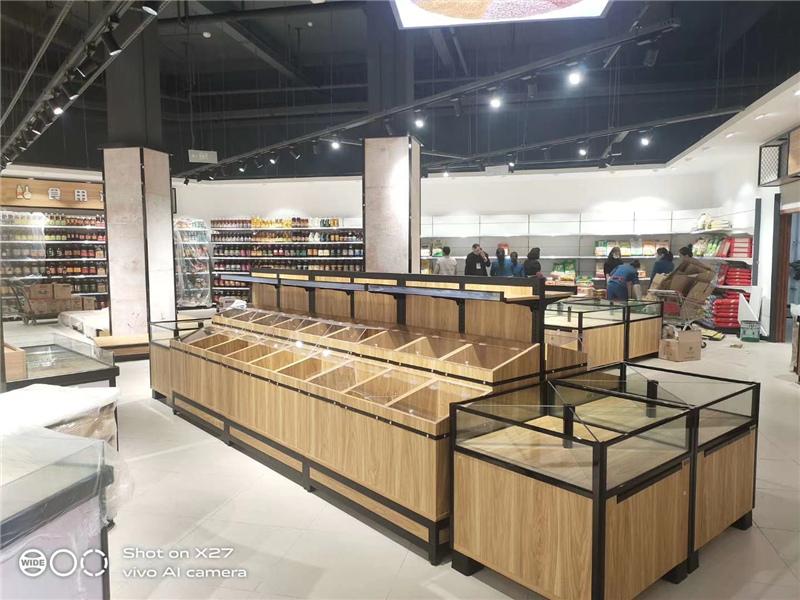 四川塑钢木货架
