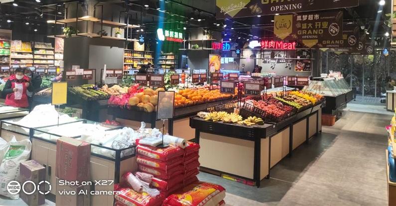 四川水果蔬菜货架
