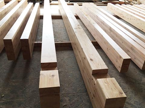 四川胶合木梁