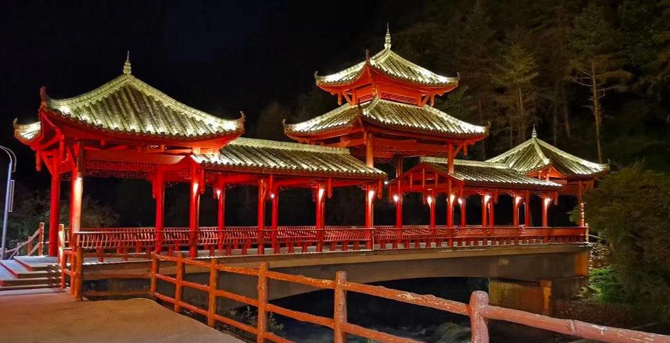 喇叭河廊桥(仿古)定制案例