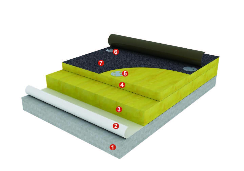 陕西混凝土基层平屋面防水保温系统