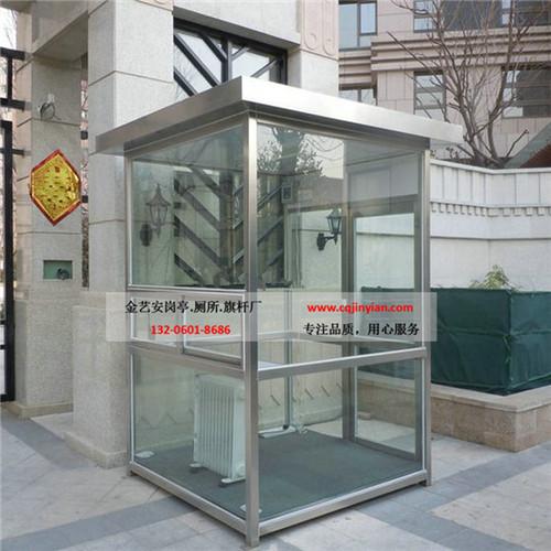 重庆玻璃岗亭定制