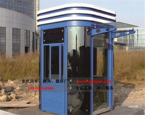 钢结构氟碳喷漆岗亭-H04
