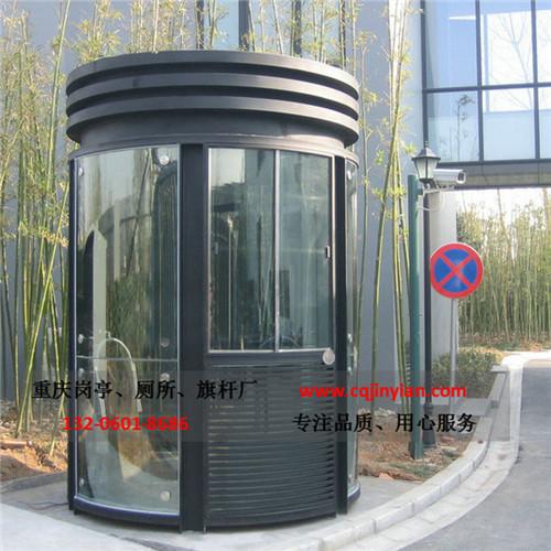 钢结构氟碳喷漆岗亭-H010