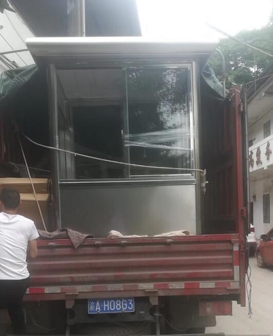 重庆不锈钢岗亭生产