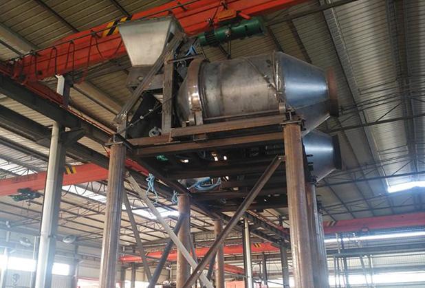 JZC500一1000型高架滚筒式搅拌机