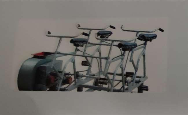 电动脚踏两用风机