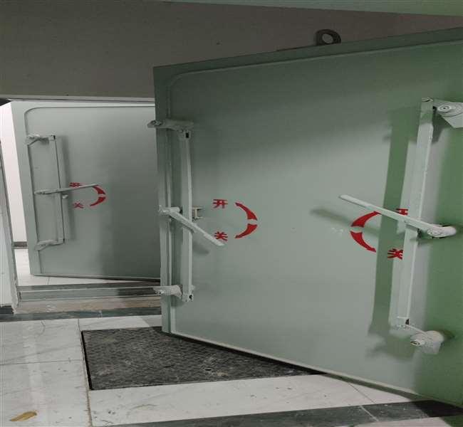 与某公司合作钢新疆结构密闭门