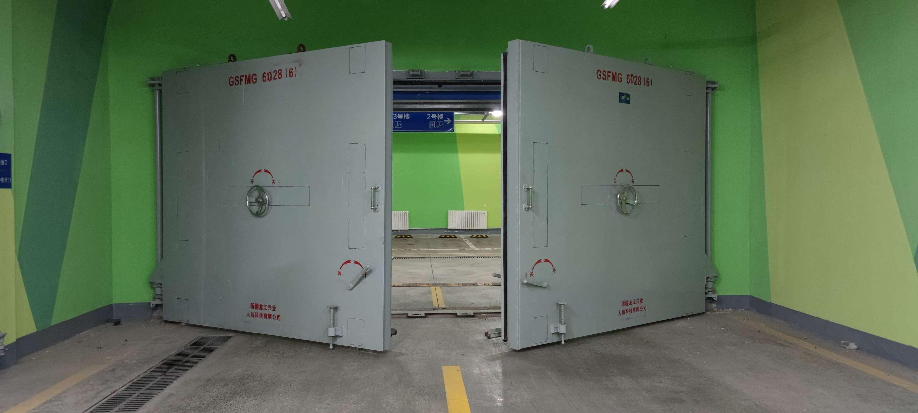 龙江兴业揭晓人防门该如何安装呢