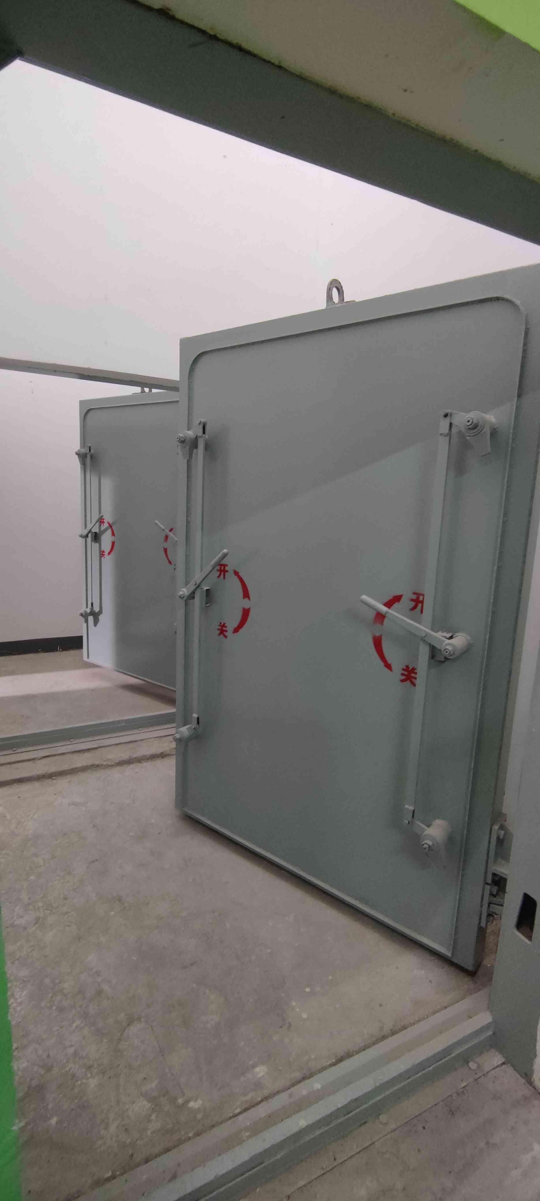 如何去维护钢结构的人防门