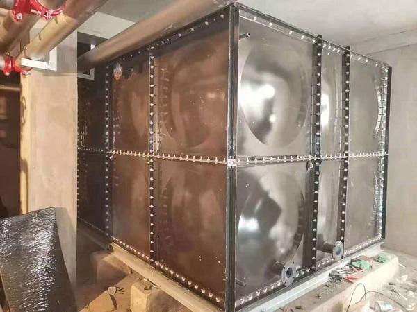无焊接镀锌钢板水箱