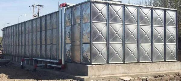 水箱厂家告诉你镀锌钢板水箱制作工艺和耐防腐性能