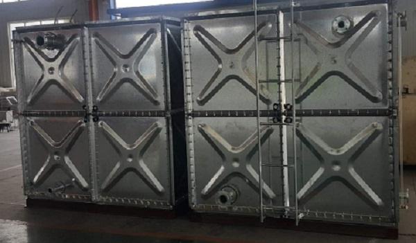 银川镀锌钢板水箱