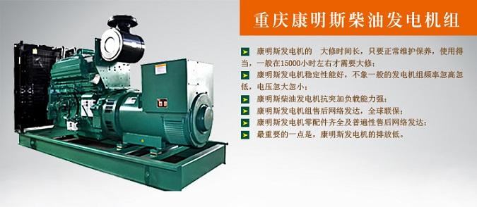 西安柴油发电机-重庆康明斯300kw