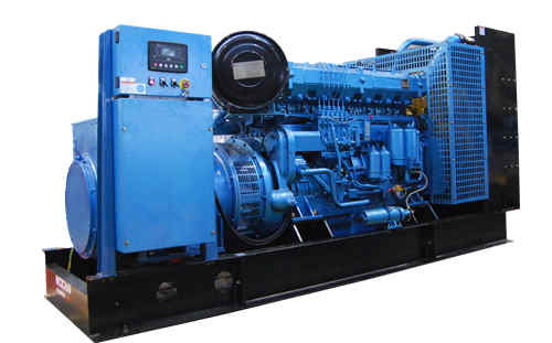 潍柴原装400KW发电机组 型号WPG550/B5