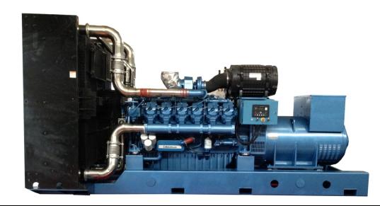 潍柴原装720KW发电机组 型号WPG990/B7