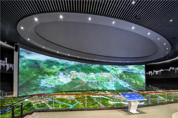 城市规划中数字沙盘模型的作用