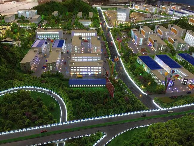 工业园区规划模型