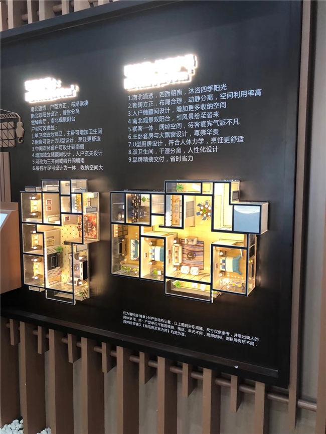 住宅壁挂户型
