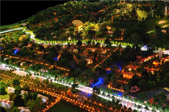 旅游景区规划模型