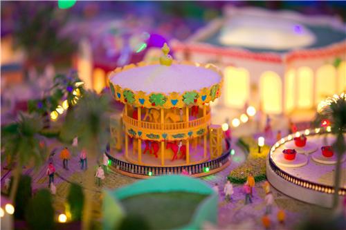 游乐园模型