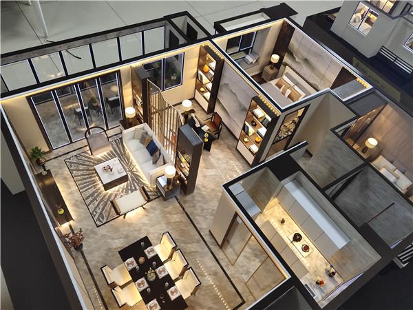 豪装住宅模型价格