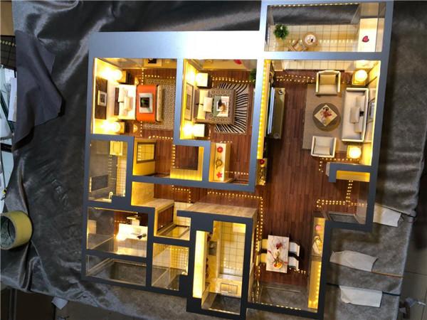 陕西豪装住宅模型
