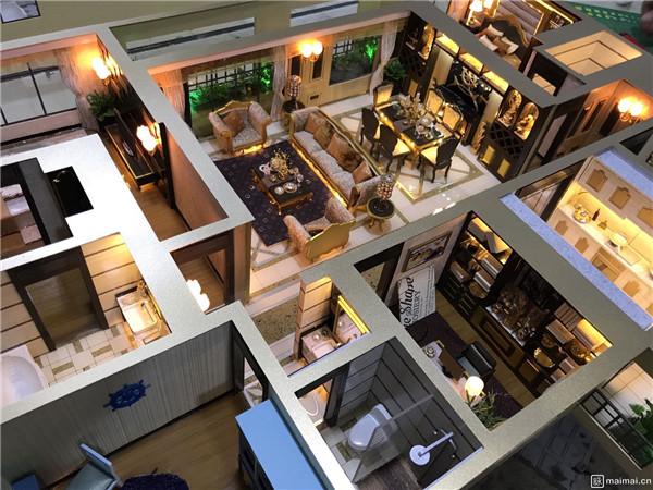 西安豪装住宅模型