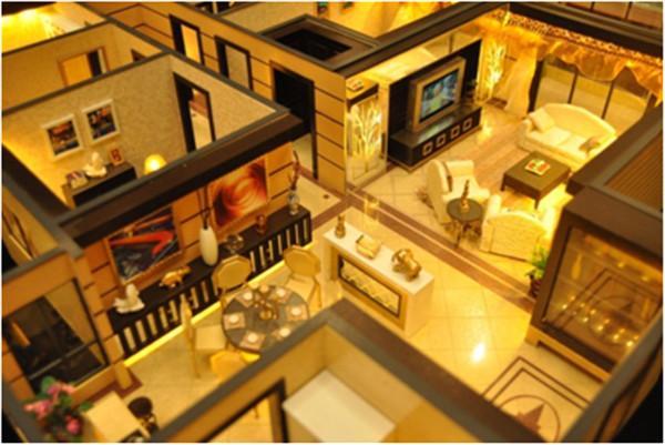 豪装住宅模型