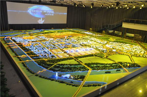 西安规划模型