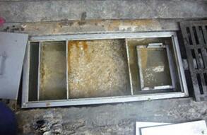 玻璃隔油池
