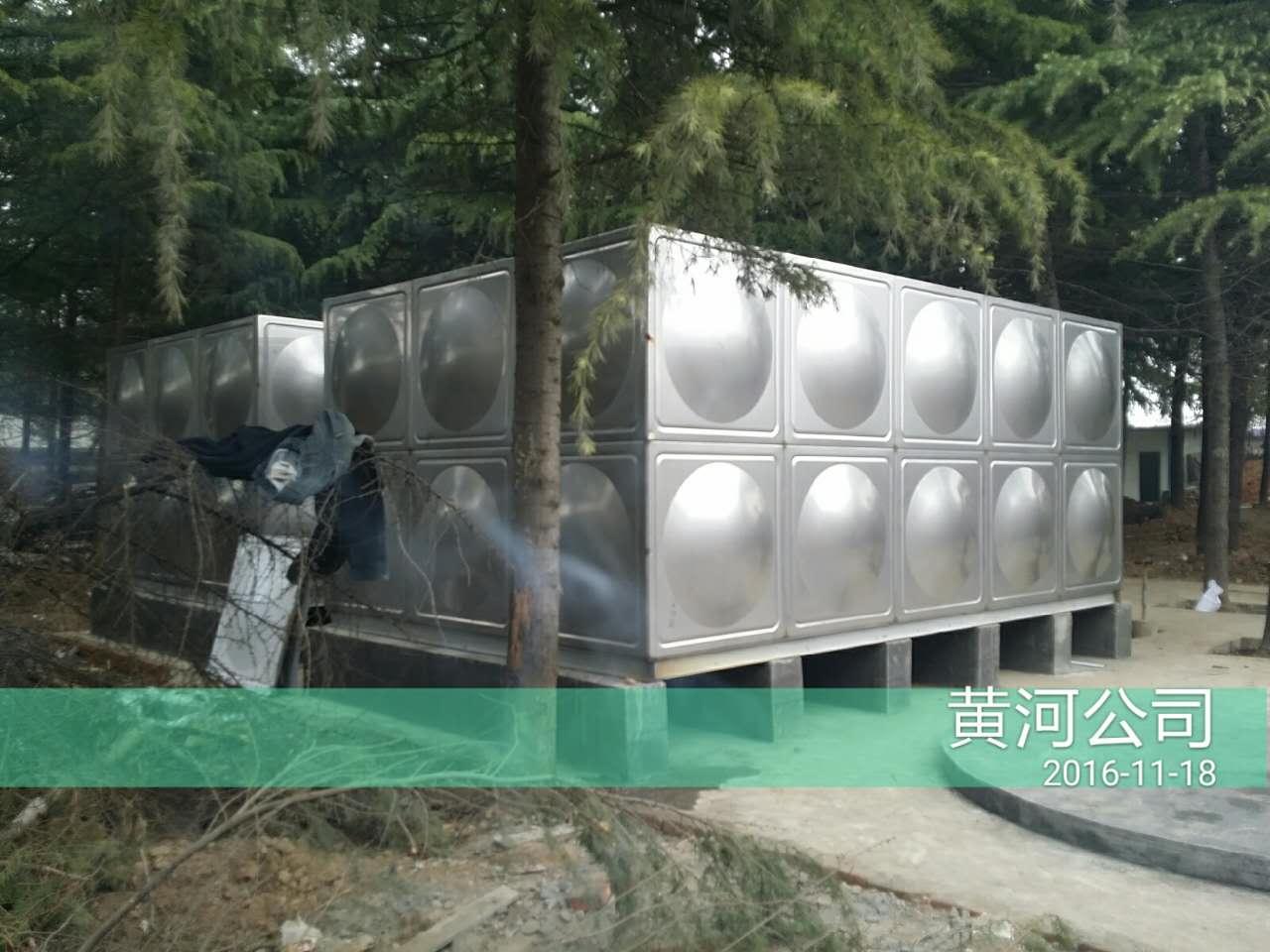 陕西玻璃钢水箱客户见证
